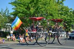4 rowerów super koło Obrazy Stock