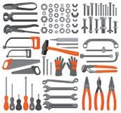 4 rzemiosła ręki ikony ustawiających narzędzia Obraz Stock