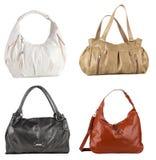 4 sacs à main Images libres de droits