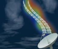 4 satelita danych obrazy stock