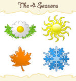 The 4 seasons Royalty Free Stock Image