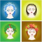 4 Seasons Royalty Free Stock Image