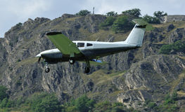 4 seater light aircraft Stock Images