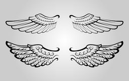 4 skrzydło Obraz Stock