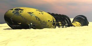 4 spacewreck Obraz Stock