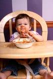 4 spaghetti królowej Zdjęcia Stock