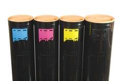 4 standfärgpulver upp Royaltyfria Foton