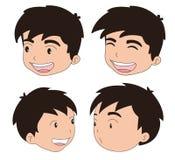 4 Stimmungen Stockbilder