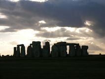4 stonehenge 免版税库存图片