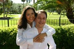 4 szczęśliwą parę serii Fotografia Royalty Free