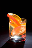 4 szkieł cytryny pomarańcze Fotografia Royalty Free