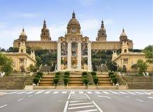 4 sztuki Catalunia D De Mnac muzeum obywatel Zdjęcie Stock