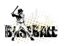 4 tło baseball Obraz Stock