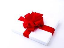 4 tło rodzajowy prezenta biel Zdjęcie Stock