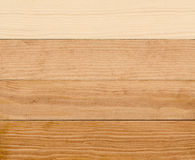4 étapes de peinture du bois Photo libre de droits