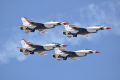 4 Thunderbirds Stock Photography