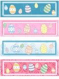 4 étiquettes assorties de Pâques Image stock