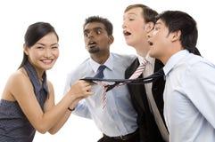 4 top bizneswomanów Obraz Stock