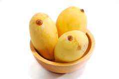 4 tropiska mangoserie Royaltyfria Foton