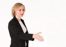 4 uścisk dłoni Zdjęcia Royalty Free