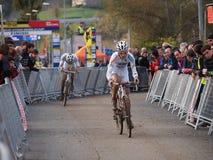 4. Umlauf des Cyclocross Weltcups 2011-2012 Stockfotos