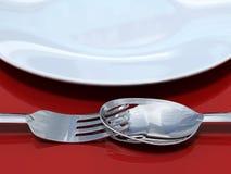 4 uroczy posiłek Obraz Stock