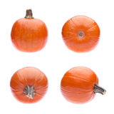 4 Views of a Pumpkin Royalty Free Stock Photos