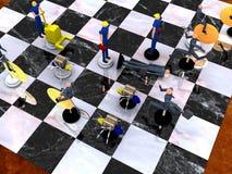 4 VOL. стратегии бизнеса Стоковые Изображения