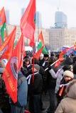 4. von Februar 2012. Treffen auf Sieggarten Stockfoto
