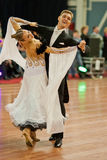 4 vuxna belarus par dansar marschen minsk Arkivbilder