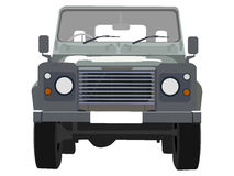 4 wheel drive illustration royalty free illustration
