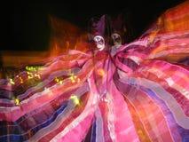 4 wilde tańczącego Obraz Royalty Free