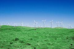 4 windfarm Obraz Stock
