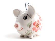 4 świnka bankowych Zdjęcie Royalty Free