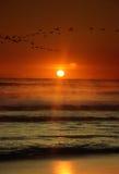 4 wschód słońca Obrazy Royalty Free