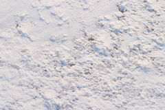 4 wzorów śnieżna tekstura Fotografia Stock