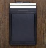 4 x 5 inch film holder Stock Image
