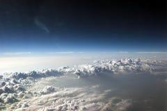 4 zachmurzone niebo Zdjęcie Royalty Free