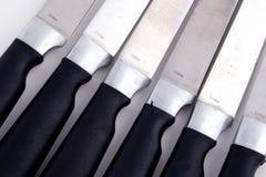 4 zestaw noży Obrazy Stock