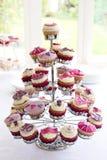 40ά γενέθλια cupcakes Στοκ φωτογραφία με δικαίωμα ελεύθερης χρήσης