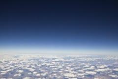 40.000 au-dessus de la terre de planète Images stock