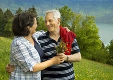 40 años de amor 18 Imagen de archivo libre de regalías