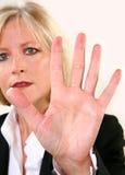 40 attraenti qualcosa donna Immagine Stock Libera da Diritti