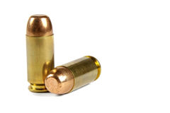 .40 caliber bullets Stock Images