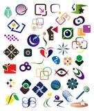 40 de Elementen van het ontwerp Royalty-vrije Stock Foto