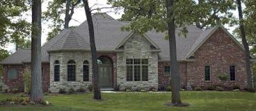 40 dom zdjęcia stock