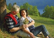 40 jaar liefde 10 royalty-vrije stock fotografie