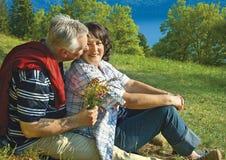 40 jaar liefde 14 royalty-vrije stock afbeelding