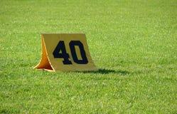 40 jardów Fotografia Stock