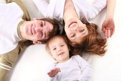 40 rodzin szczęście Fotografia Stock